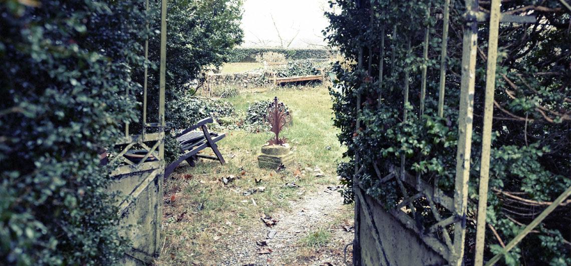 Entkernung von Gärten